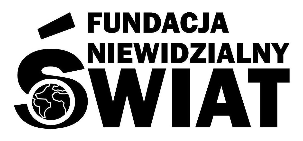 """Logo Fundacji """"Niewidzialny Świat"""""""
